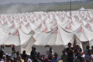 Il campo profughi di Boyunyogun