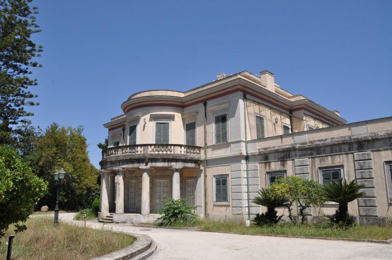 La villa di Mon Repos a Corfù, dove il principe Filippo nacque il 10 giugno 1921