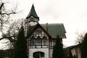 La villa padronale della Krivaja (Foto Andrea Rossini)