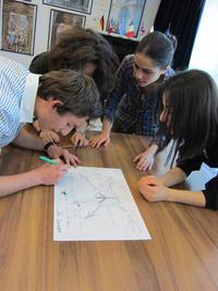 Lavori di gruppo durante le selezioni a Yerevan (Foto Ilenia Santin)