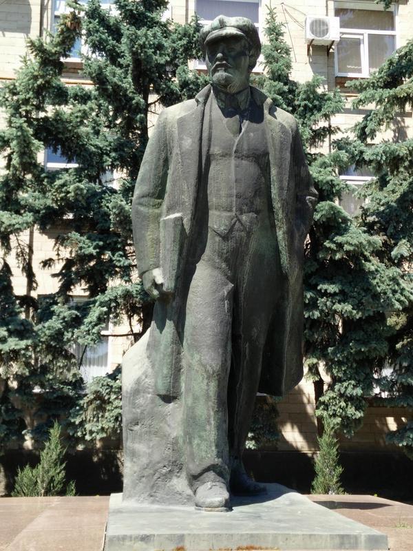 Statua di Lenin (foto P. Bergamaschi)