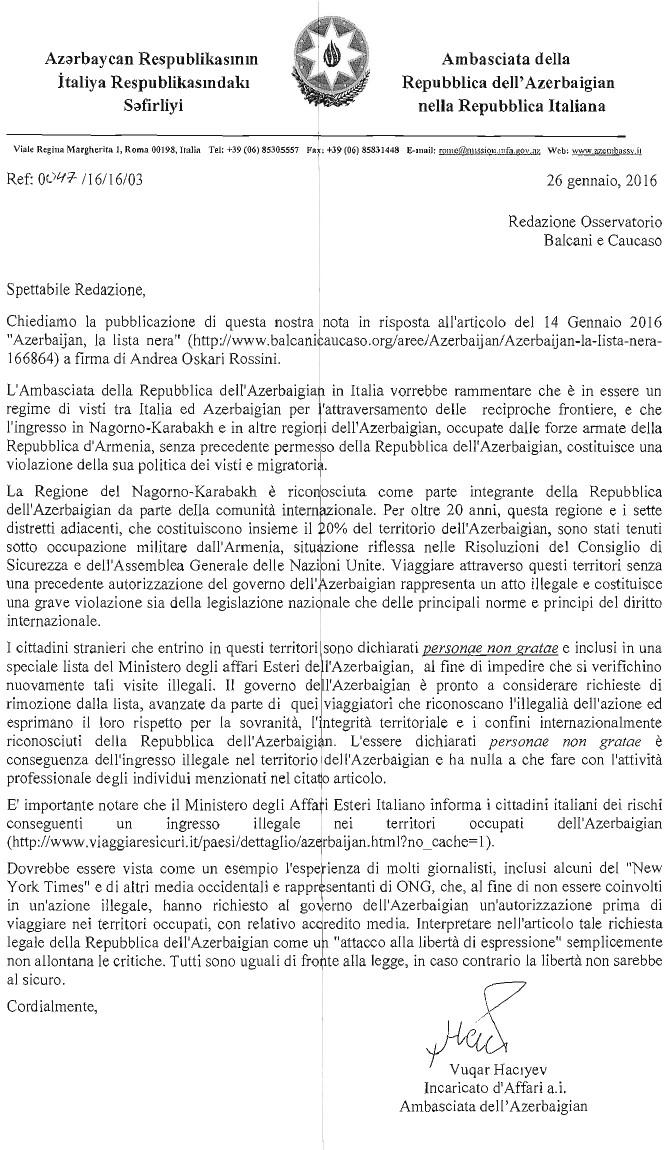 lettera-ambasciata-azera