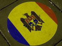 Lo stemma della Moldavia (Michael Francis McCarthy /Flickr)