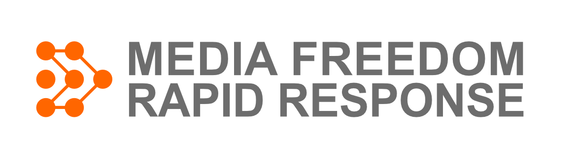 Logo del progetto Media Freedom Rapid Response (MFRR)