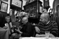 Luca Rastello sulla destra, Torino (foto © Mario Boccia)