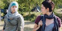 Luna Mijović e Zrinka Cvitešić nel film Na Putu