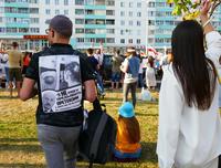 Manifestazioni contro il regime di Lukashenko, Minsk, Bielorussia (Pavel Stasevich/Shutterstock)