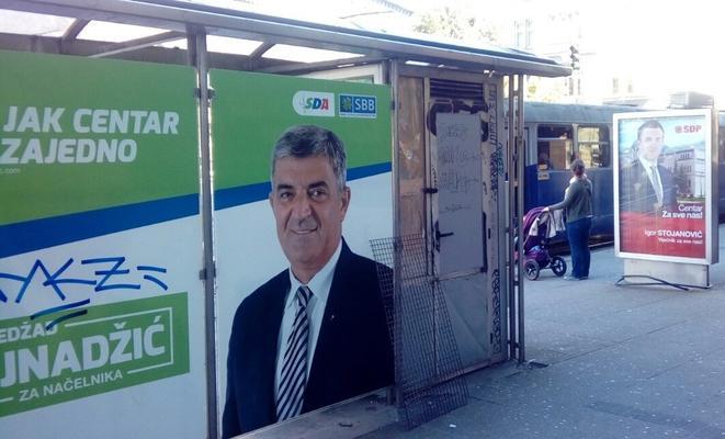Manifesti elettorali a Sarajevo (foto A. Šušnjar)