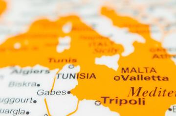 Mappa del Mediterraneo - ©  Di easyknotcoco/Shutterstock