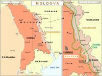 mappa della Moldavia