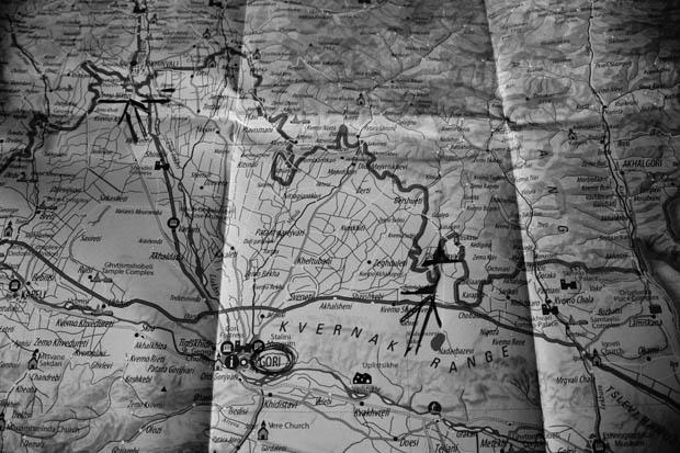 Mappa - foto di Matteo Zola