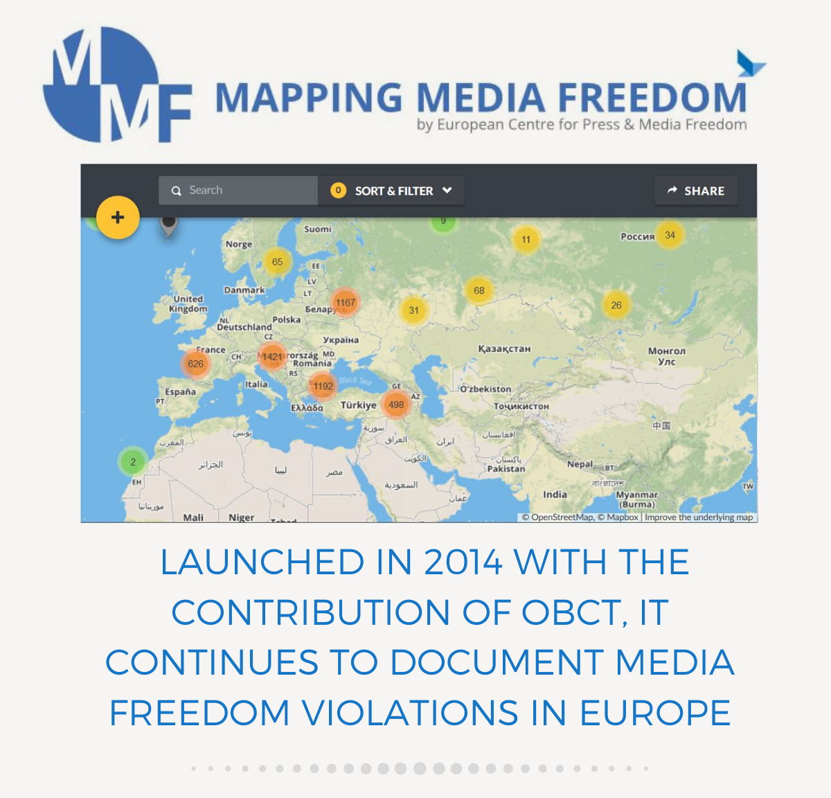 Mapping Media Freedom