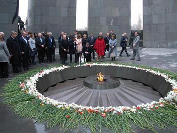 Memoriale di Yerevan (foto P. Bergamaschi)