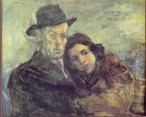 Meša e Darka (pittura di Ismet Mujezinović)