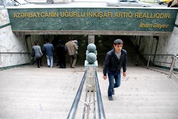 """""""Lo sviluppo dell'Azerbaigian è già una realtà"""" (Foto M. Ellena)"""