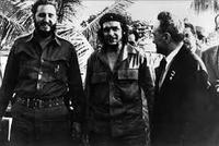 Mikoyan con i leader cubani (Wikipedia)