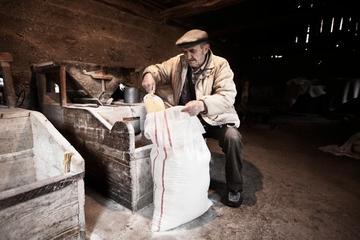 Miro nel suo mulino a Martin Brod (Foto Federico Sutera)