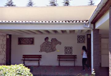 Museo di Gordio, con la ricostruzione di un celebre mosaico di Alessandro Magno. Foto di F. Polacco
