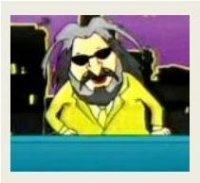 Una versione cartoon di Milenko Nedelkovski con cui lui stesso si presenta ai fan sulla pagina facebook del suo programma tv