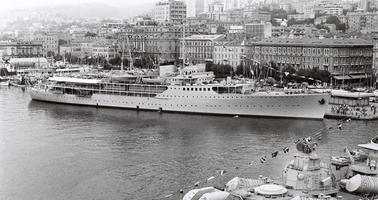Nave Galeb, Fiume 1953