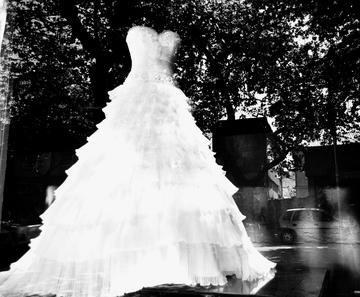 Vestito da sposa in centro a Skopje - Marjola Rukaj