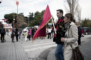 I festeggiamenti per il centenario dell'indipendenza albanese, foto di Marjola Rukaj