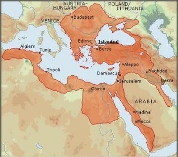 L'IMpero Ottomano nel XVIImo secolo