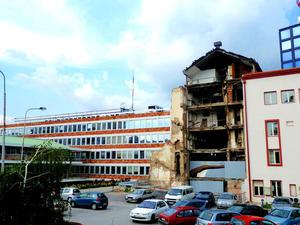 Palazzo RTS, Belgrado (foto F. Sicurella)