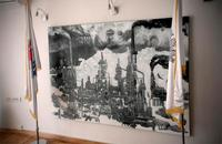 Pancevo, il quadro di Vuk Vuckovic, foto di Andrea Pandini