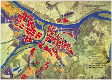 Il piano urbanistico generale di Belgrado del 1951