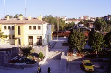 Polatli, la stazione ferroviaria Foto di F. Polacco