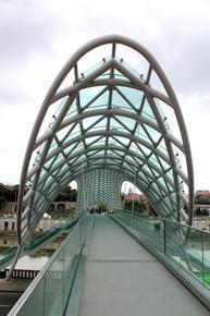 Ponte della pace, Tbilisi