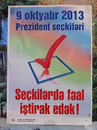 9 ottobre 2013, elezioni presidenziali. Partecipate attivamente alla tornata elettorale