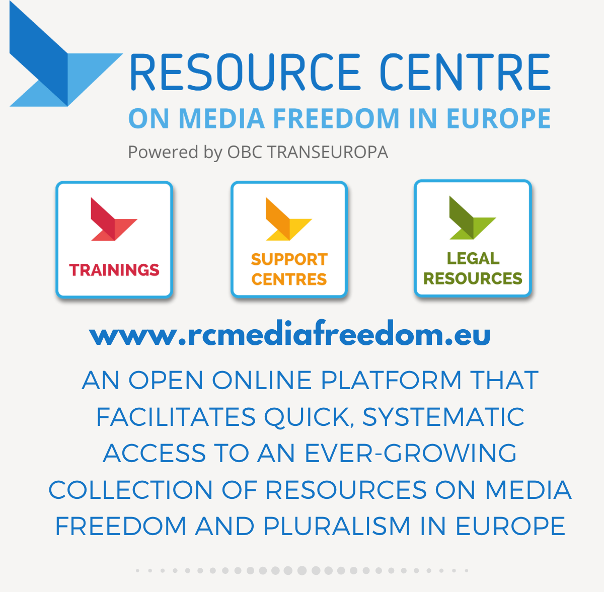Logo Resource Centre on Media Freedom in Europe