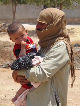 Rifugiati siriani - foto di Dimitri Bettoni