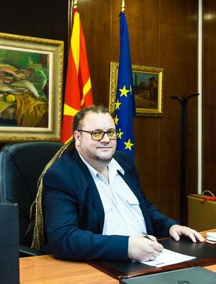 Robert Alagjozovski nuovo ministro della Cultura (foto G. Vale)