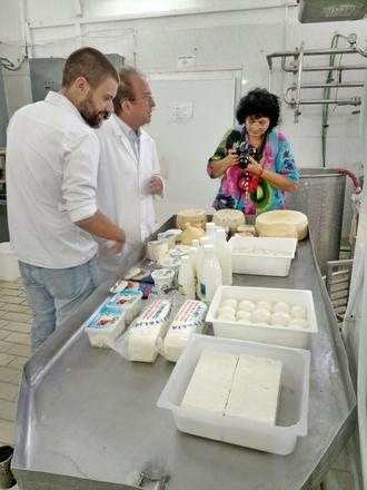Roberta Sangiorgi durante la missione in Albania nel 2018 - © RTM