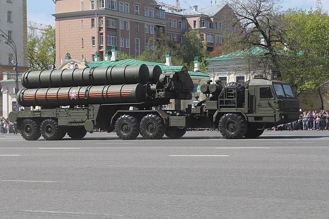 Il sistema missilistico S400 (foto wikimedia)