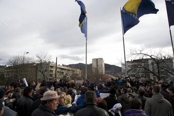 Sarajevo, febbraio 2014 (Foto Stefano Giantin)