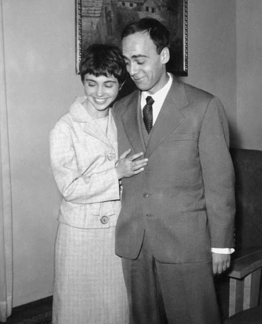 Leonid Šejka e Marija Čudina