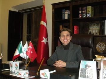 Sevim Aktaş, direttrice dell'Istituto turco di Cultura Yunus Emre di Roma - foto F. Polacco