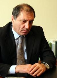 Sergei Shamba, primo ministro dell'autoproclamata repubblica dell'Abkhasia, nata dala secessione con la Georgia dopo la guerra di agosto 2008 (foto di Francisco Martinez)