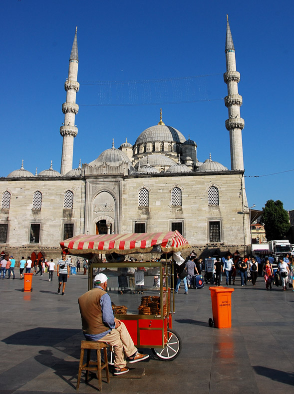Simit, Istanbul (foto L. Zanoni)