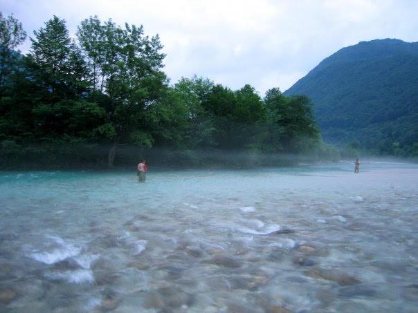 Lungo l'Isonzo - Giovanni Mutti