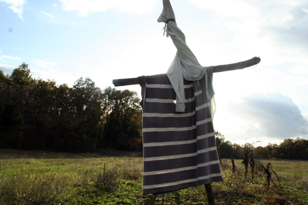 Spaventapasseri d'Erzegovina - foto di Mariangela Pizziato