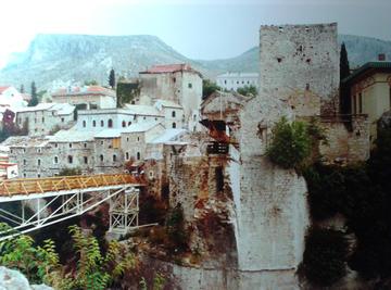 Lo Stari Most nel 1998 (foto L. Zanoni)