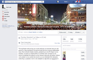 Su Facebook ci si organizza per le proteste