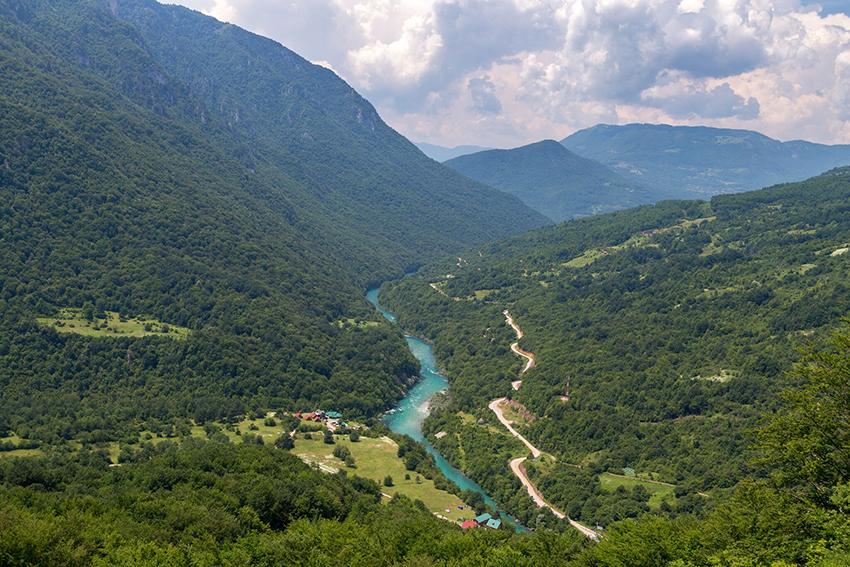 La valle della Tara - Plužine
