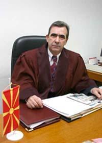 """Il presidente della Corte Costituzionale macedone, Trendafil Ivanovski, prima vittima della """"lustracja"""" avviata nel Paese"""