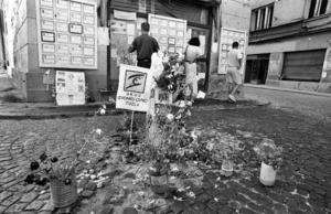 Tuzla, il luogo del massacro del 25 maggio 1995 - © Mario Boccia